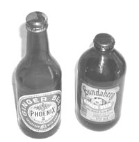 Commercially available small-batch sodas
